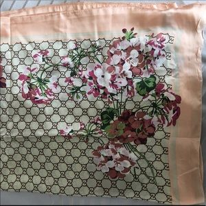 Gucci Silk Scarf - relisting due to canceled order